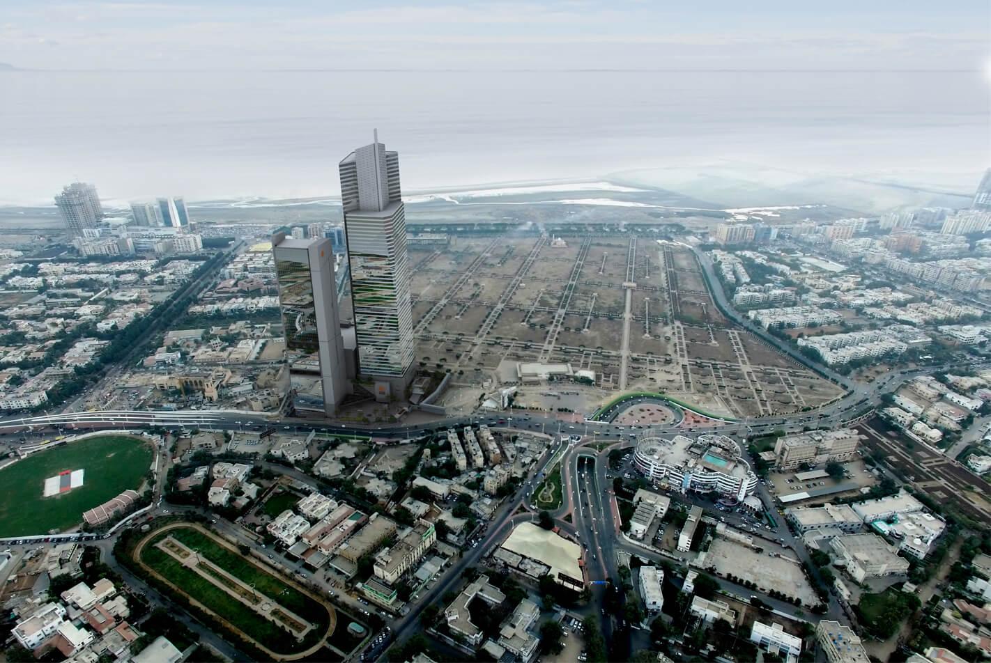 Infrastructure Bahria Town Icon Karachi